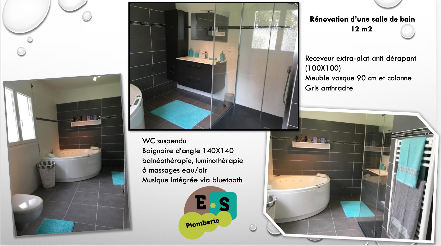 Salle de bain 12m2 balneo
